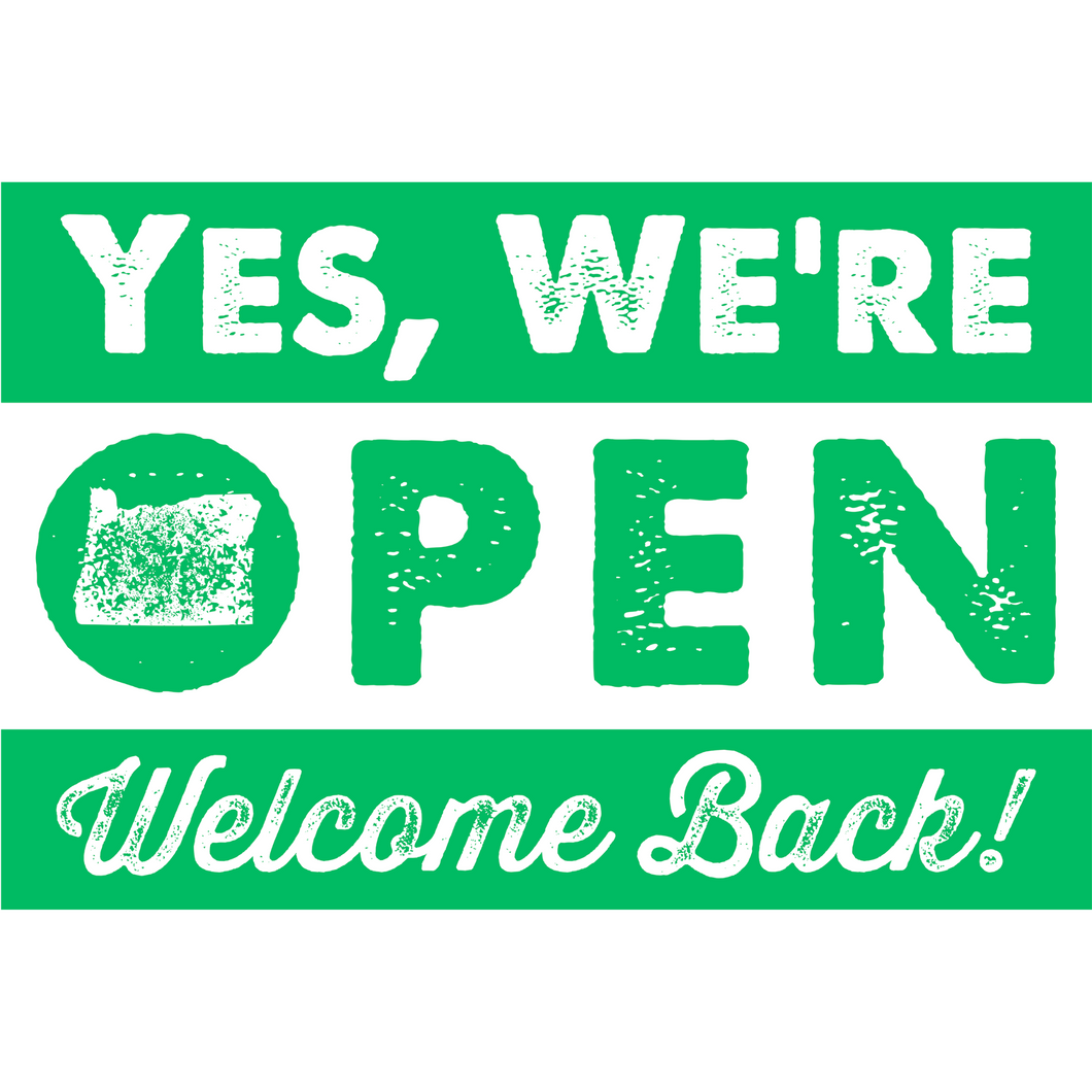 Welcome Back Banner (2' x 3')