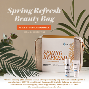 Free Premium Spring Refresh Beauty Bag (Discount applied at Check-out)