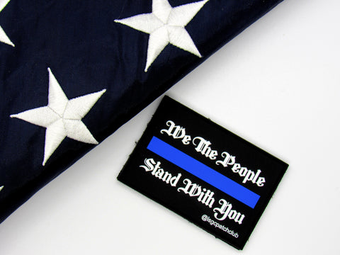 Thin Blue Line We the People