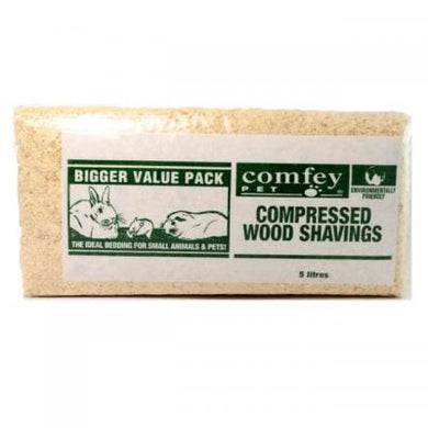 Comfy Wood Shavings 5L