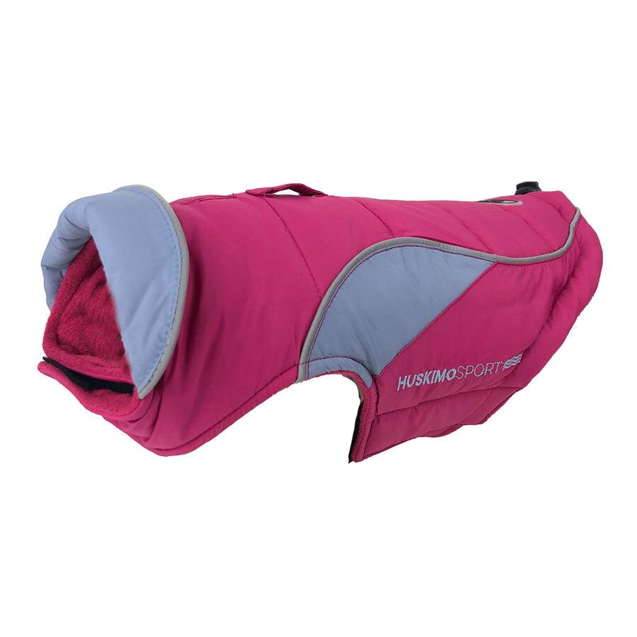 Huskimo Dog Jacket Coat Sherpa Raspberry 52.5cm