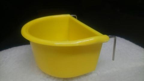 Bird Feeder D Cup Large Yellow / White / Green / Red