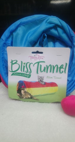 Bliss Cat and Kitten Tunnel 90cm