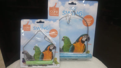 Bird swing with grit 10cm