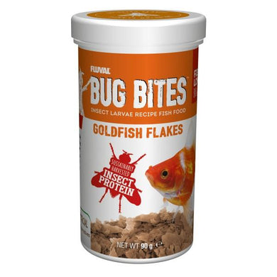 Fluval Bug Bites Goldfish Flake Food 90g