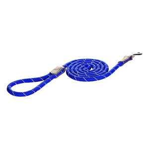 Rogz Rope Dog Lead Blue 1.8m Large