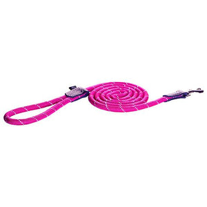 Rogz Rope Dog Lead Pink 1.8m Large
