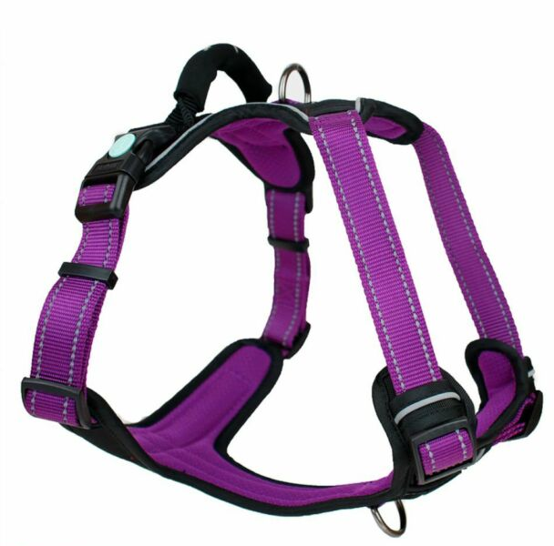 Huskimo Ultimate Dog Harness Aurora Purple Extra Large