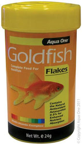 AQUA ONE Goldfish Flake Food 24g