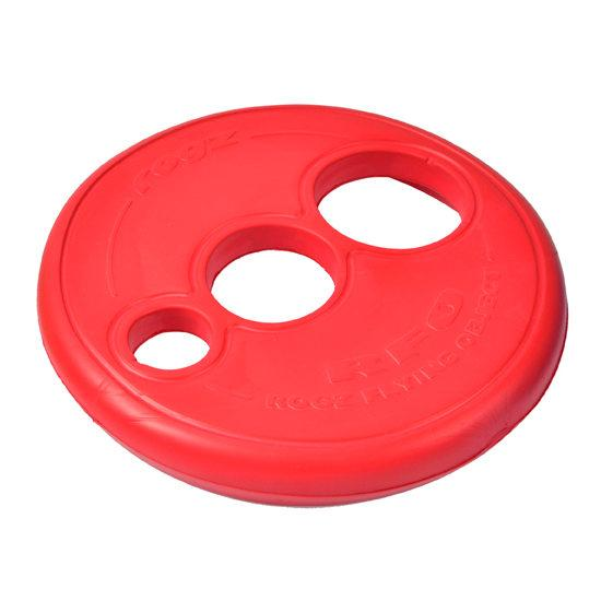 Rogz RFO Dog Toy Frisbee Red