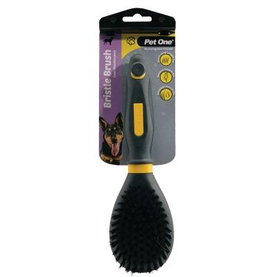 Pet One Grooming Bristle Brush Large Dog