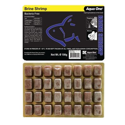 Aqua One Brine Shrimp Punch Out Pack 100g