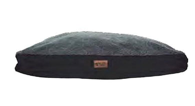 Its Bed Time All Terrain Cushion Wool Top Bed Black Medium