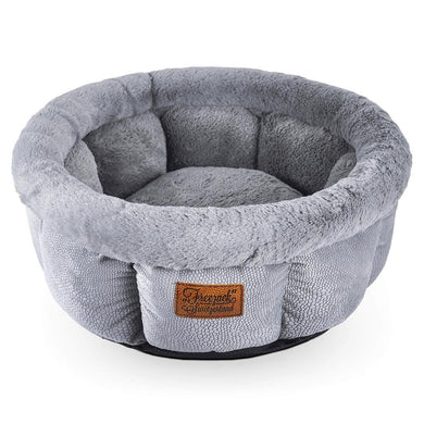 Freezack Dream Small Dog or Cat Oval Bed Sofa Grey