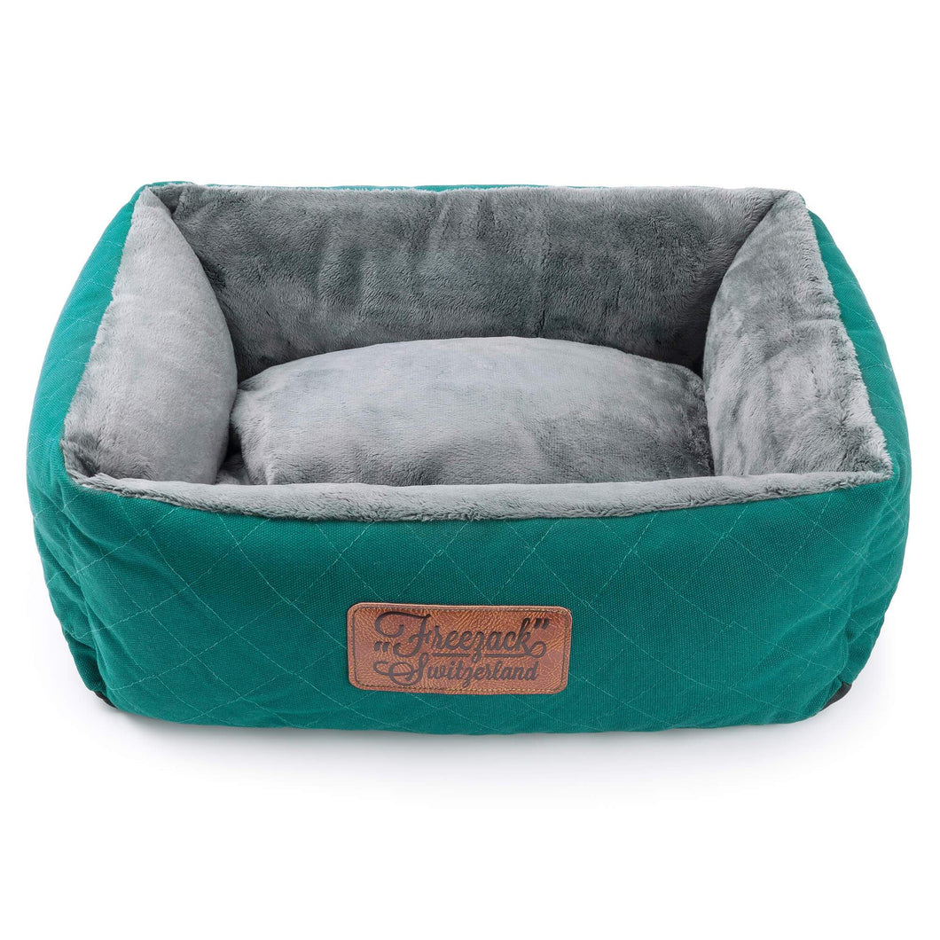 Freezack Knight Garni Dog Bed Medium Turquoise