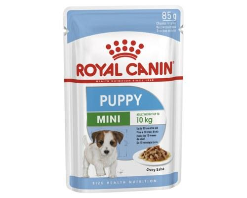 Royal Canin Puppy Mini Wet Food Gravy Pouch 85g x 12 pack