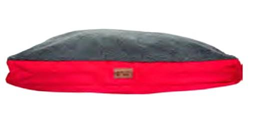 Its Bed Time All Terrain Cushion Wool Top Red Bed Large