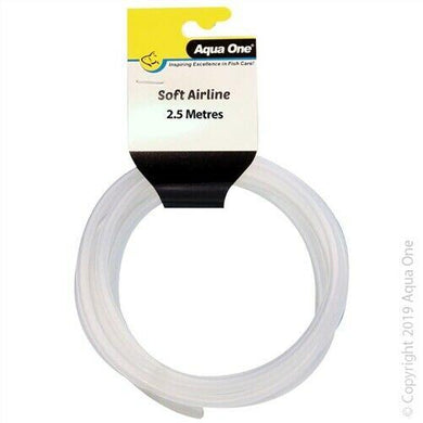 Aqua One PVC Air Line for Aquariums 2.5m