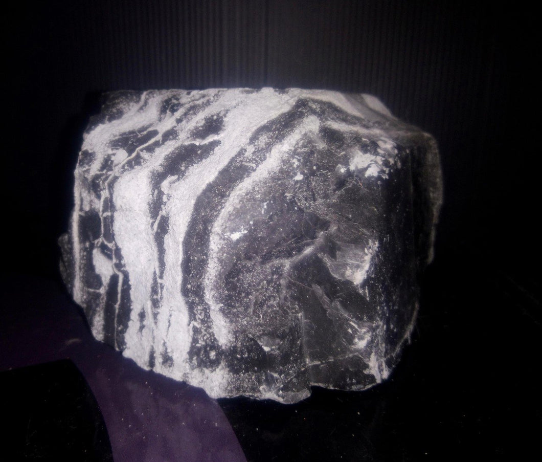 Zebra Aquarium Rock / Stone Large