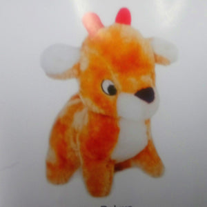 Xmas Holiday Deluxe Reindeer Christmas Dog Toy