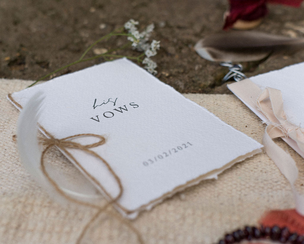 Vow Book