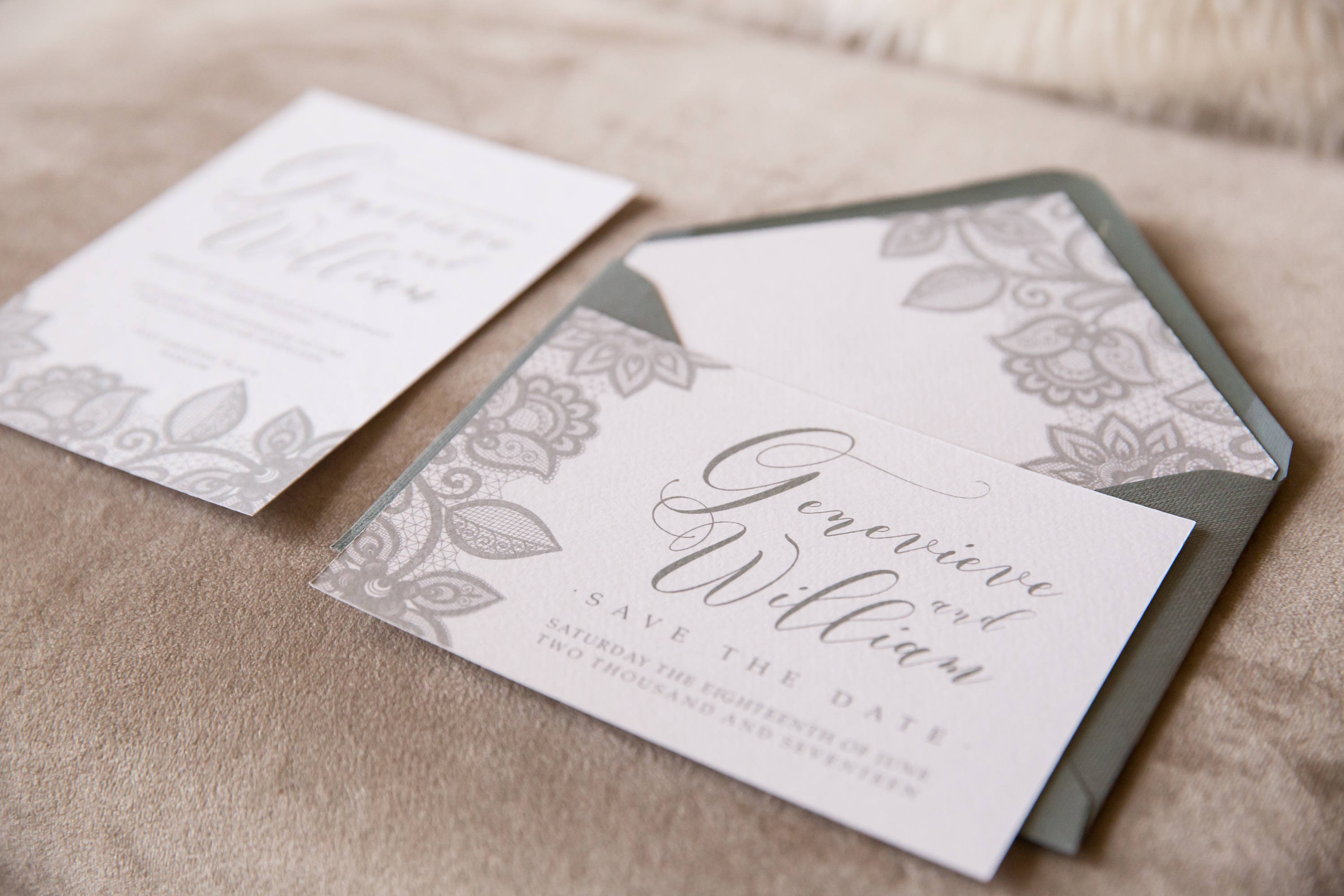 Harlow Wedding Invitation Collection
