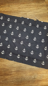 Navy anchors mask