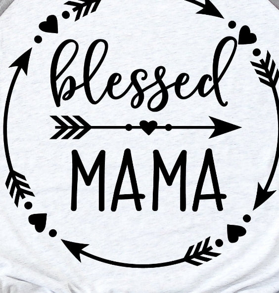 Blessed Mama arrows