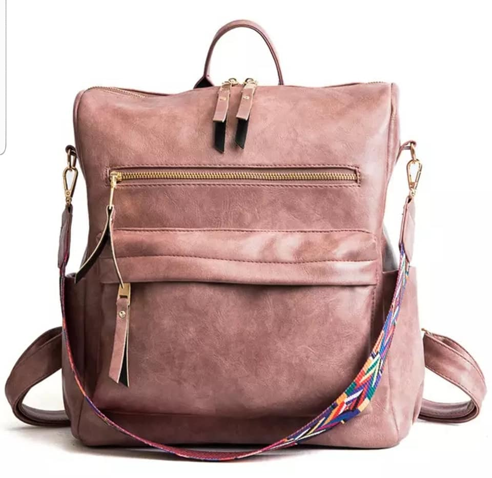 PRE ORDER BLUSH BACKPACK PURSE