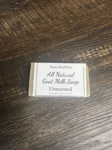 Unscented All Natural Goat Milk Soap
