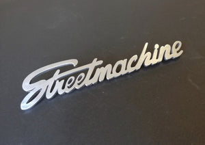 "<p>This beautiful ""Streetmachine"" Emblem is a great addition to any type of car and will give it a custom touch. It's perfect"