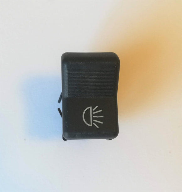 <p>3 position headlight rocker switch used on many Italian classic cars.</p> <p>There are many types of connections for these