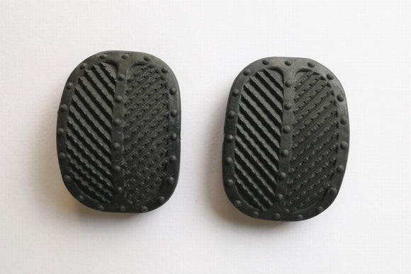 <p>Clutch / Brake pedal pad set of 2  to fit many Fiat models including Fiat / Bertone X1/9 - 126 - 500 D - 500 F - 500 L - 5