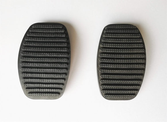 <p>Clutch / Brake pedal pad set of 2  to fit many Fiat models including 125 - 131 - 132 - Argenta - Barchetta - Brava - Bravo