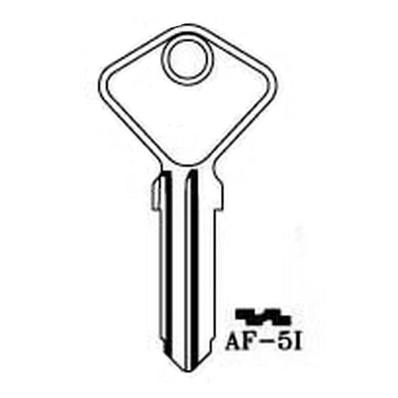 <p>Key blank to fit many classic Italian cars and other vehicles including Alfa Romeo A11, A12, F11, F12 - Autobianchi Bianch