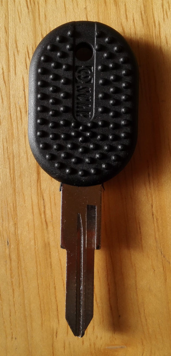 <p>Brand new key blank to fit many classic Italian cars and other vehicles including Fiat 128, Spider, Strada, Ritmo, Panda,