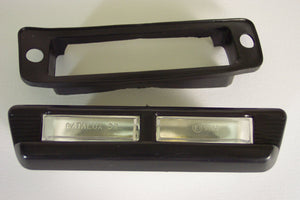 <p>Brand new license plate light that would fit a wide variety of Fiat models including 124, 127, 128, 132 and many more.</p>
