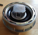 Fiat Locking Fuel Gas Cap 124 X1/9 Spider Brava 131 Lancia Beta Delta Chrome NEW