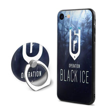 Load image into Gallery viewer, GekhHaon Rainbow Six Siege iPhone 7 iPhone 8 Phone Case Ultra Slim Cover Case with 360 Degree Swivel Ring