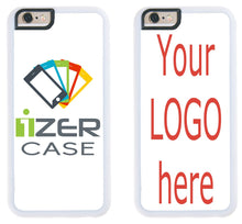 Load image into Gallery viewer, Custom Phone Cases for iPhone 6S Plus, iPhone 6 Plus, iZERCASE [Personalized Custom Picture CASE] Make Your Own Phone Case (White)