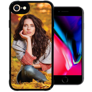 PixCase i8 / i7 (4.7 inch) – Picture Frame Case – Compatible with Apple iPhone 8 and 7 – DIY – Insert Your Own Photos or Create Custom Designs Online – Change Anytime – Shock Absorbing Protection