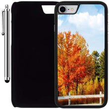 Load image into Gallery viewer, Custom Case Compatible with iPhone 7 (4.7 inch) (Vintage Autumn Tree) Plastic Black Cover Ultra Slim | Lightweight | Includes Stylus Pen by Innosub