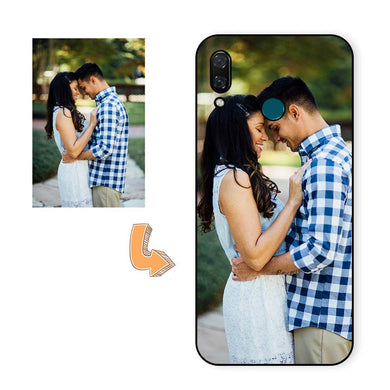 Design Your Own Phone Case, Personalized Photo Phone Case for Samsung Galaxy A20/A30 Custom TPU+Glass Case