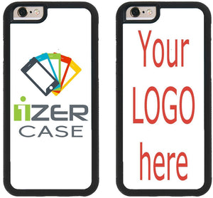 Custom iPhone Cases iPhone 7, iPhone 8 iZERCASE [Personalized Custom Picture CASE] Make Your Own Phone Case (Black)