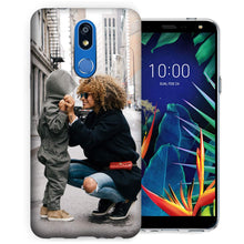 Load image into Gallery viewer, MUNDAZE Personalized Picture Image Photo Phone Case for LG K40, K12 Plus, X4, Solo LTE, Xpression Plus 2, Harmony 3 (2019 Release) - Add Your Own Photo Perfect Custom Case