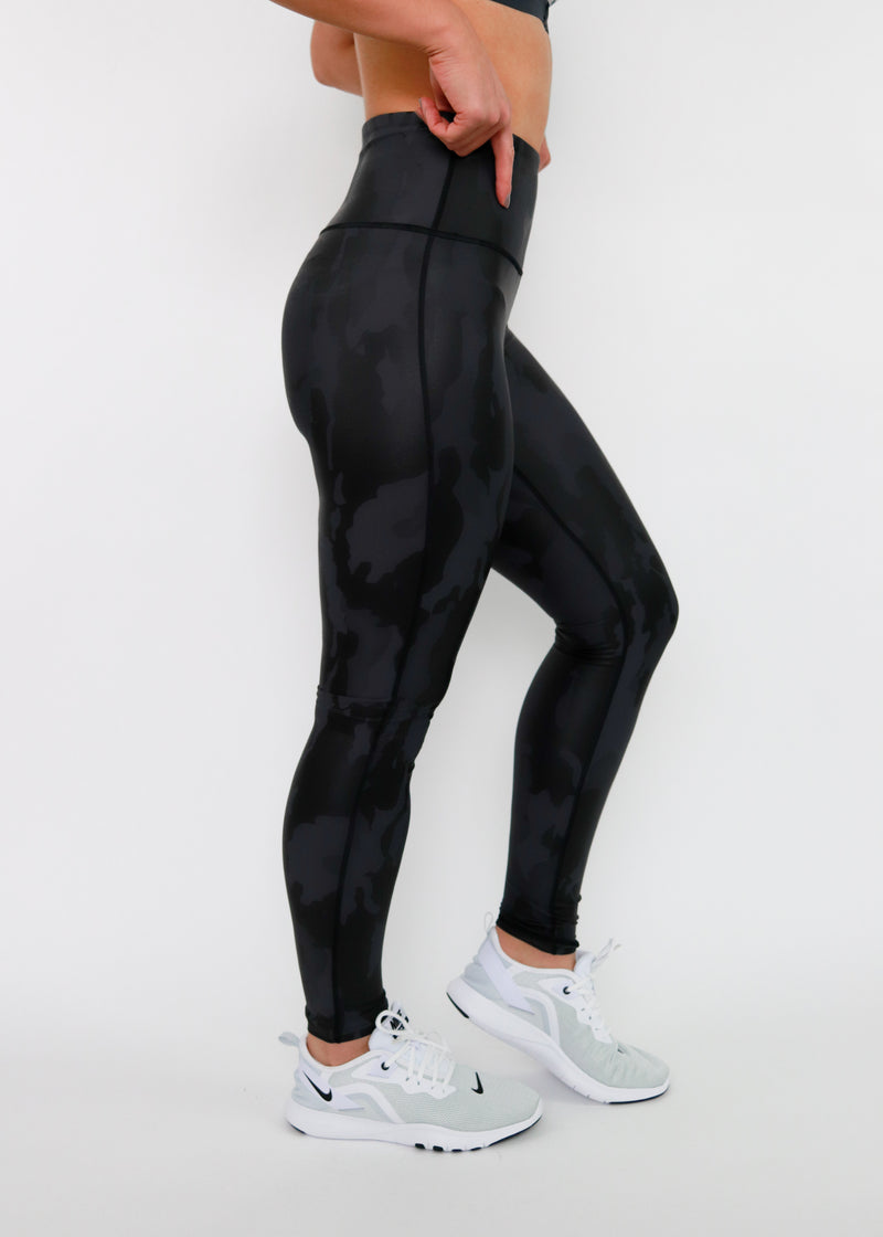 Camo High Waist Leggings. Soulan Apparel. Activewear.