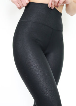 Pebble High Waist Leggings. Soulan Apparel. Activewear.