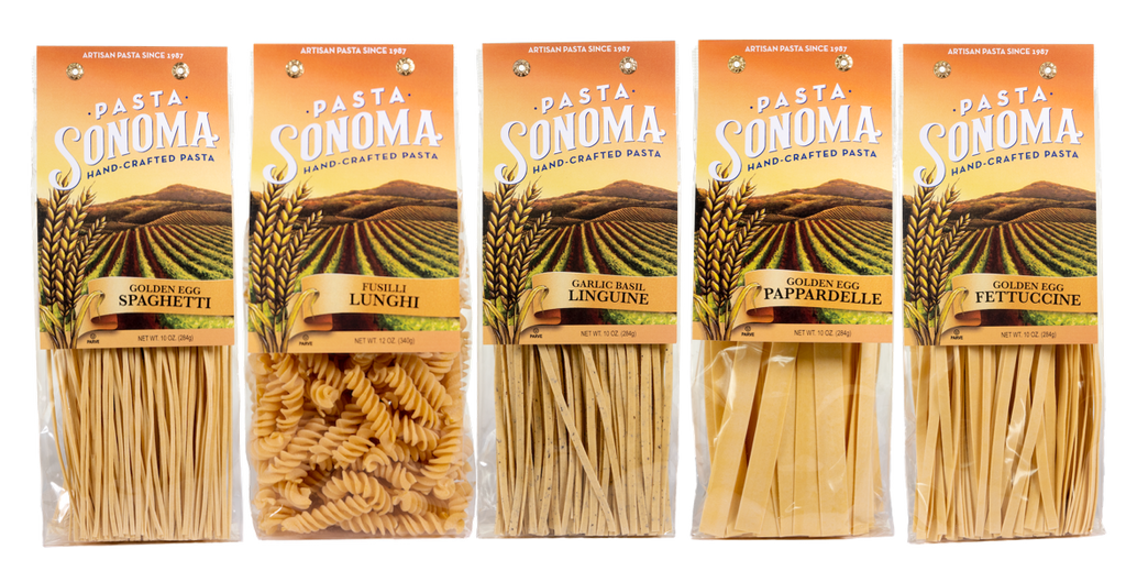 PASTA SONOMA HAS A NEW LOOK FOR 2019!