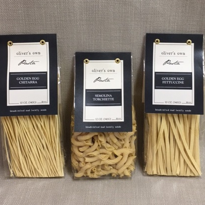 Three New Pastas for Oliver's Markets