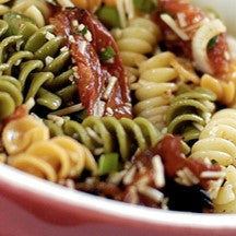 Pasta Sonoma Golden Fusilli with Sun-Dried Tomatoes, Capers and Balsamic Vinaigrette